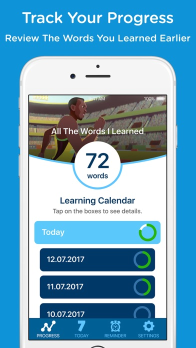 Hello7 - Learn English Words Screenshot