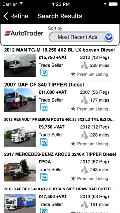 Auto truck trader