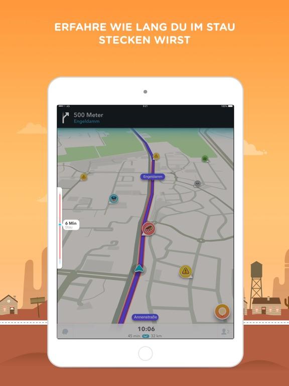 Waze - GPS und Verkehrslage Screenshot