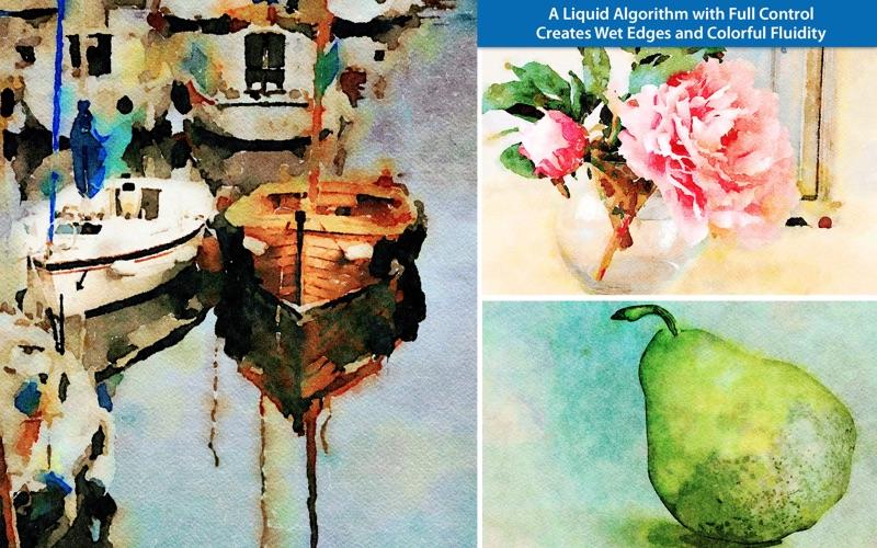 JixiPix Watercolor Studio Pro 1.4.11 Mac 破解版 - 水彩画图片绘制软件