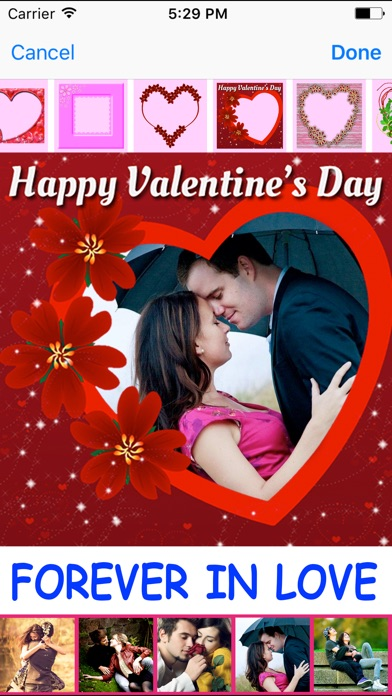 Valentines Day Photo Collage Editor Amp Love Frames App