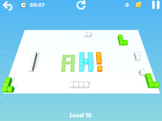Cubes : brain teaser Screenshot