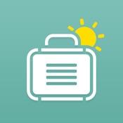 PackPoint, lista de embalagem de viagem