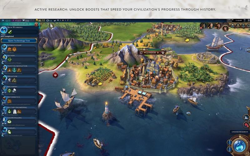 Screenshot do app Civilization VI