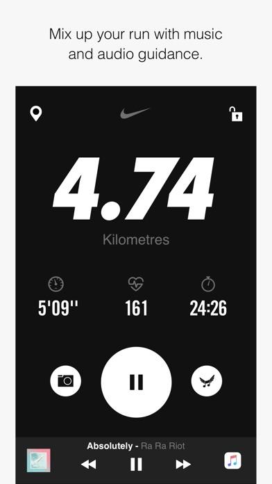Nike+ Run Club Screenshot