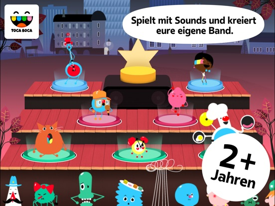 Toca Band Screenshot