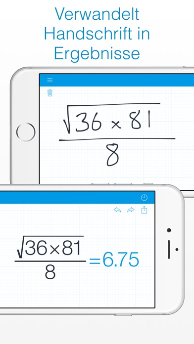MyScript Calculator - Handschrift-Rechner Screenshot