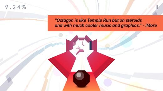 Octagon - A Minimal Arcade Game with Maximum Challenge Screenshot