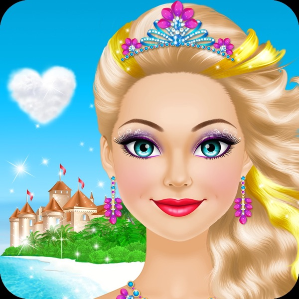 Tropical Princess: Girls Makeup and Dress Up Games