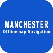 Manchester UK - City Offline Maps of the World with GPS Map Navigation Tools for Travelers