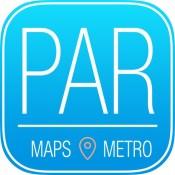 Paris Offline Travel Guide & Metro Map