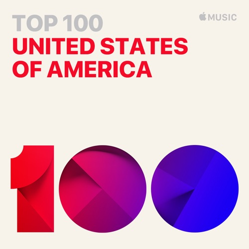 Top 100   The most-played songs in the United States, updated every day.