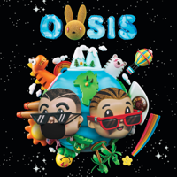 J Balvin & Bad Bunny - OASIS artwork