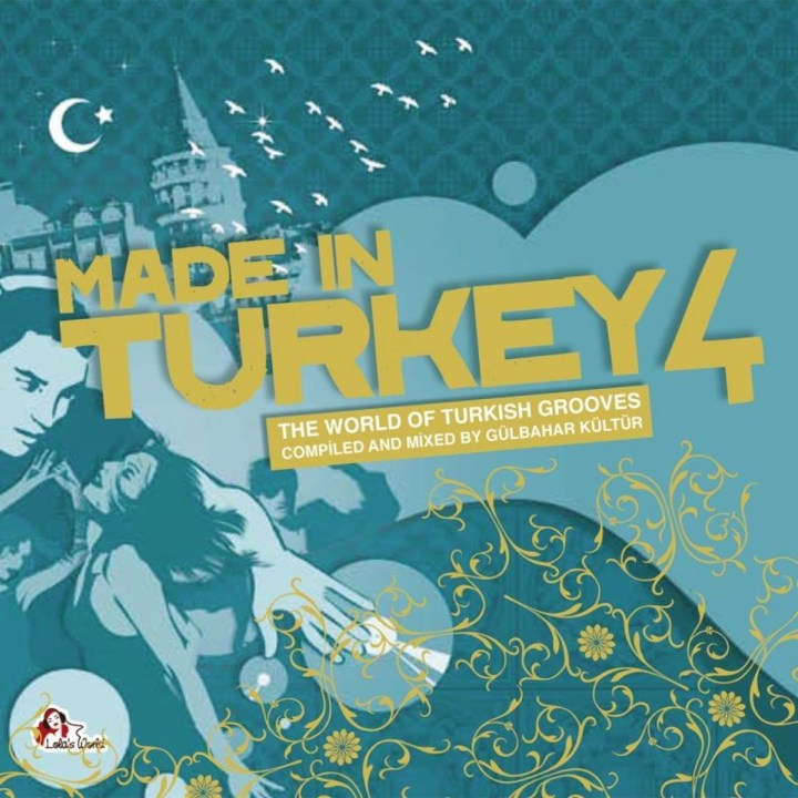 made in turkey, vol. 4 album cover by gülbahar kültür
