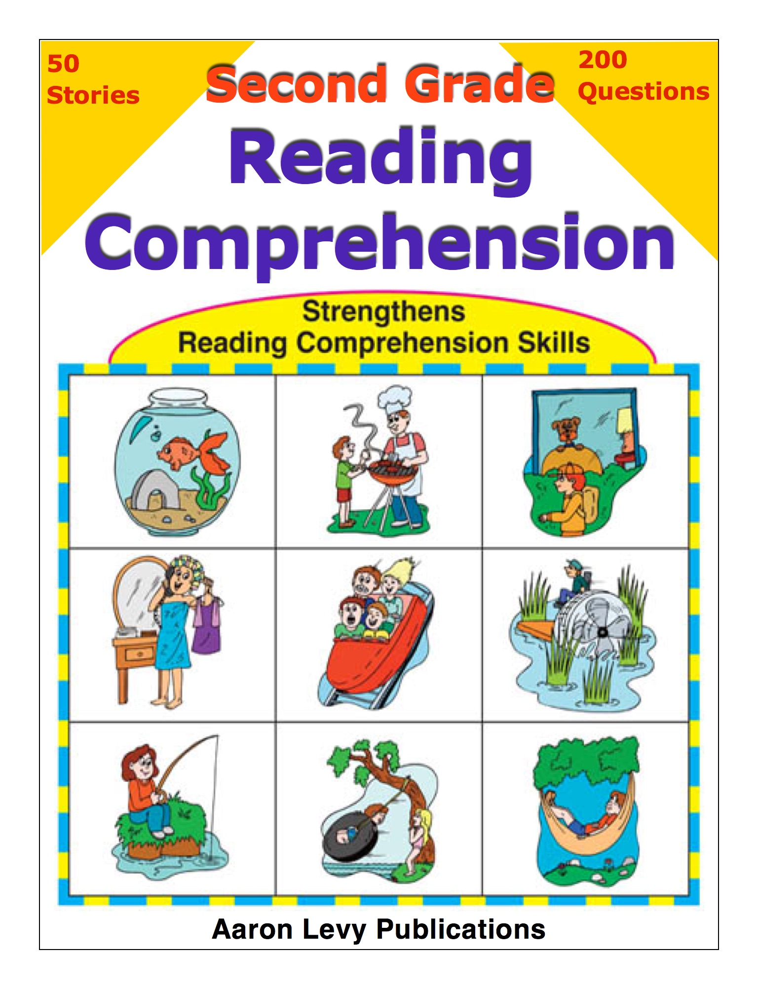 Second Grade Reading Comprehension By Aaron Levy On Ibooks