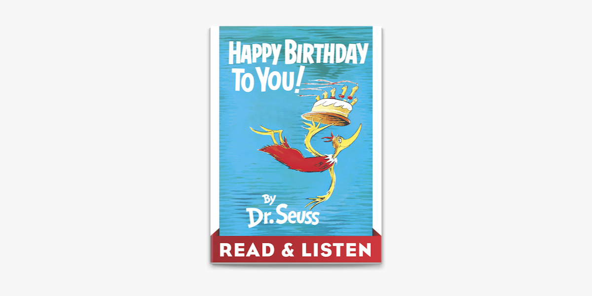 Happy Birthday To You Read Listen Edition In Apple Books