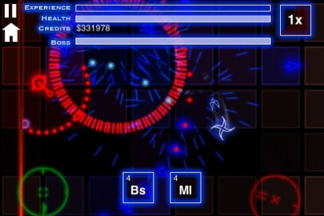 Isotope: A Space Shooter Screenshot