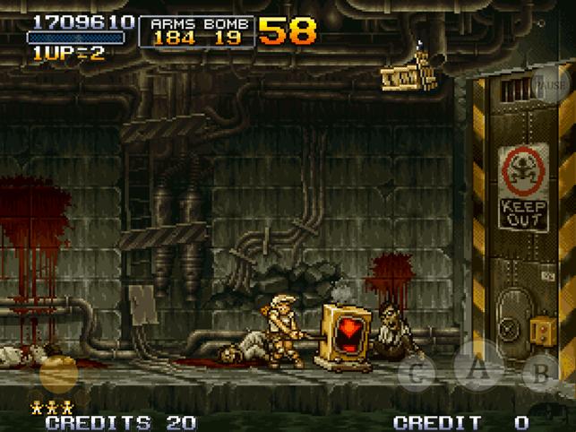 METAL SLUG 2 Screenshot