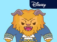 Disney Stickers: Beauty and the Beast Pack 2