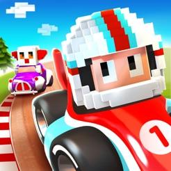 Blocky Racer – Carreras continuas en videojuego
