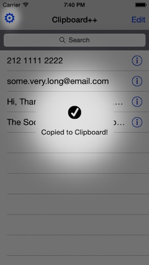 Clipboard++ Screenshot