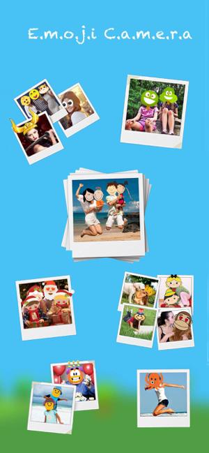 Emoji Camera - unique filters Screenshot