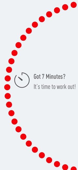 J&J Official 7 Minute Workout Screenshot
