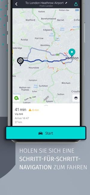 HERE WeGo – Stadt-Navigation Screenshot