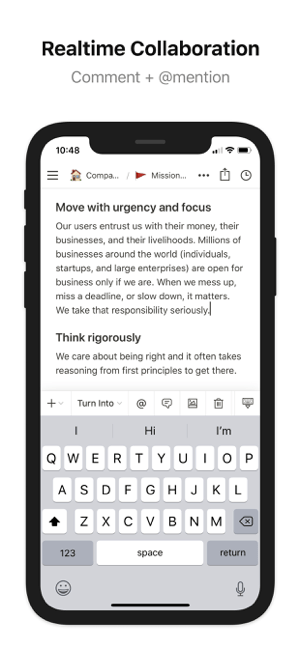 Notion - Notes, projects, docs Screenshot