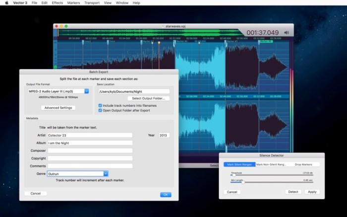 Vector 3 - Record & Edit Audio Screenshot 7