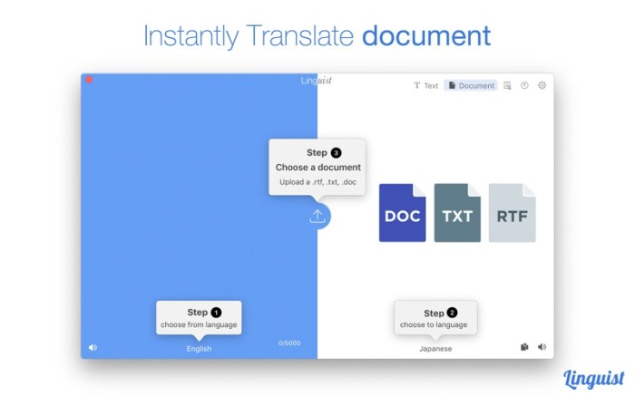 Linguist: Easy Translate App Screenshot 06 lg2i78n