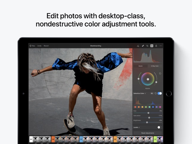 Pixelmator Photo Screenshot