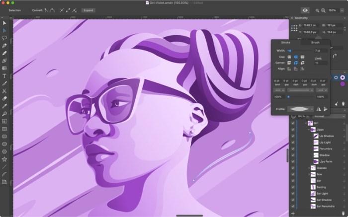 Amadine - Vector Graphics App Screenshot 03 12dsl7n