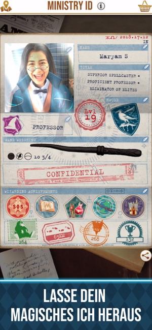 Harry Potter: Wizards Unite Capture d'écran