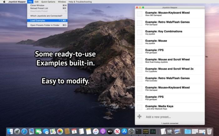 Joystick Mapper Screenshot 04 12v5xon