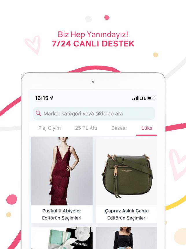 ModaCruz - İkinci El Alışveriş Screenshot
