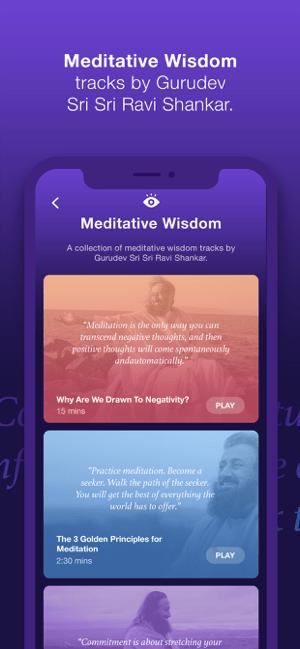 Sattva Meditations & Mantras Screenshot