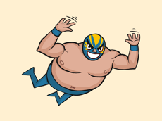 Felipe the Luchador