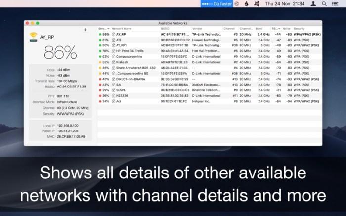Wifi Signal Strength Explorer Screenshot 03 1ganhjmn