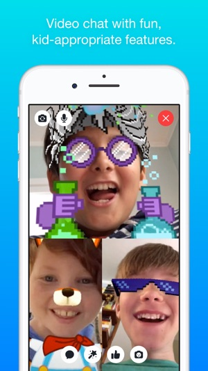 Messenger Kids Screenshot