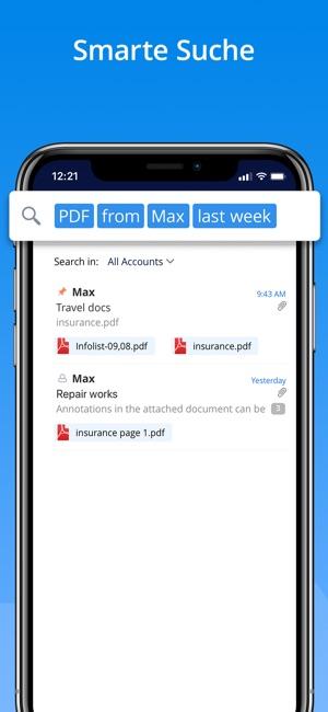 Spark – E-Mail-App von Readdle Screenshot