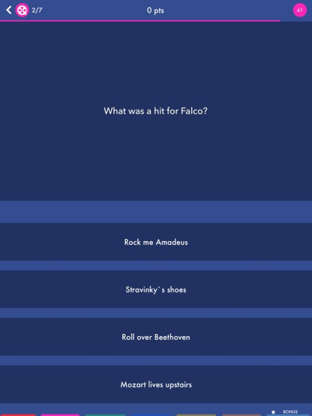 Trivial Quiz Pursuit Knowledge Screenshot