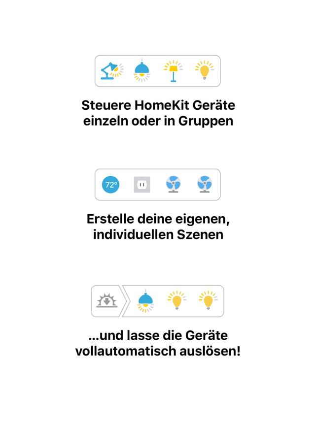 Devices – Control for HomeKit Screenshot