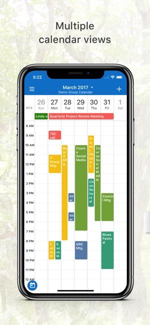 Teamup Calendar Screenshot