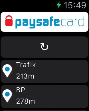 paysafecard Screenshot