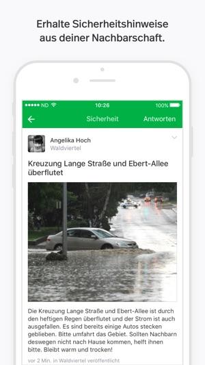 Nextdoor - Nachbarschafts-App Screenshot