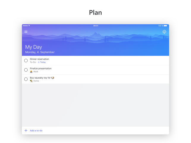 643x0w Microsoft To-Do - Wunderlist Nachfolger vorgestellt Apple iOS Google Android Software Technology