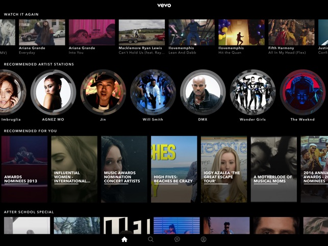 Vevo - Schaue Musikvideos Screenshot