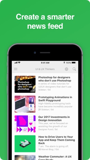 Feedly - Smart News Reader Screenshot