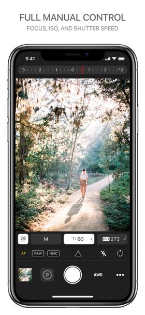 Prime - RAW Manual Camera Screenshot
